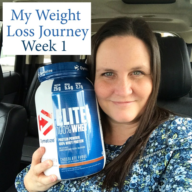 My Weight Loss Journey Week One