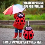 Family vacation packing tips for families.