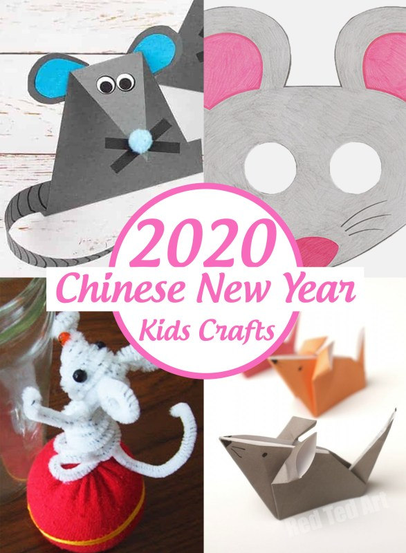 2020 Chinese New Year Rat Activities and Crafts for Kids