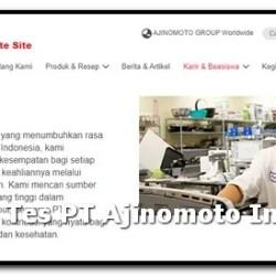 pengalaman tes ajinomoto indonesia