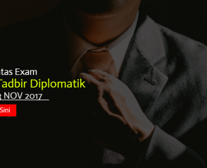 Topik Hot Seksyen A Peperiksaan Online Pegawai Tadbir Diplomatik