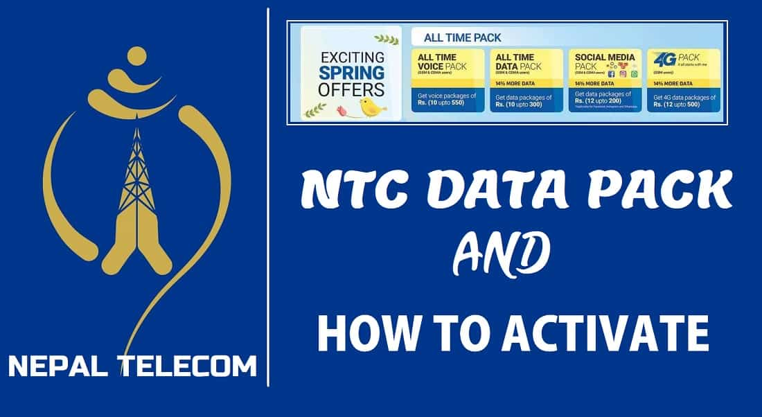 How to Buy Data Pack in NTC | Latest Pack Offer 2021