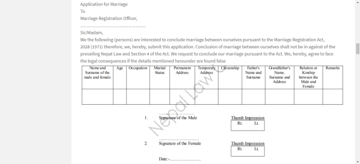 Easy Tips on How to Get a Marriage Certificate in Nepal