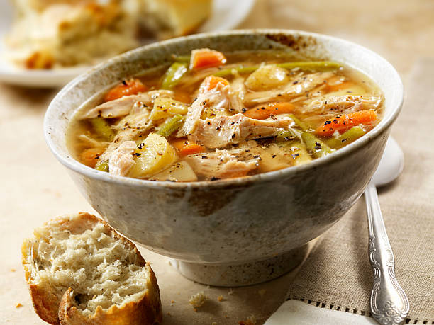 Chicken Soup: A 4 Step Recipe for Healthy and Delicious Soup