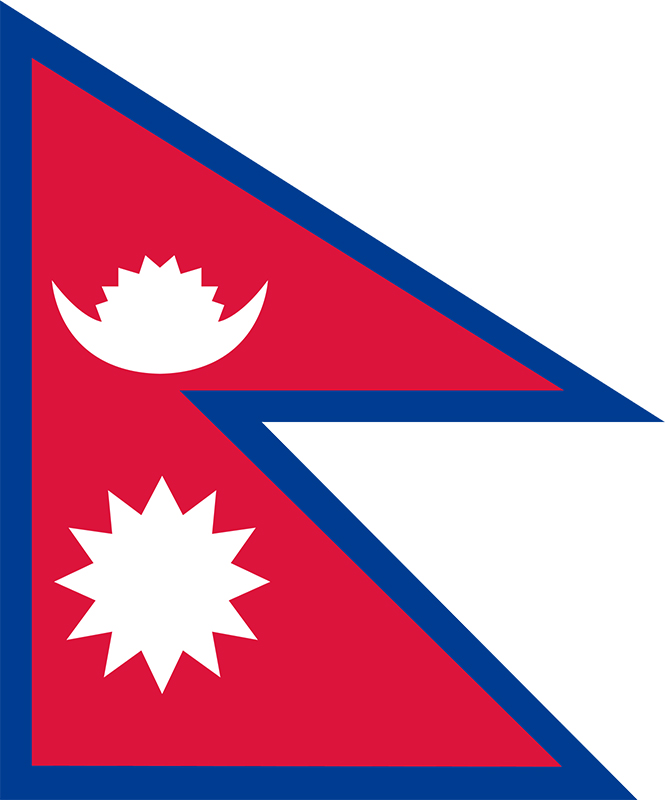 How to draw an accurate flag of Nepal – as per the constitution of 2015