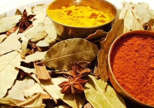 Ilustrasi Bubuk Kunyit I Img: freeimages.com