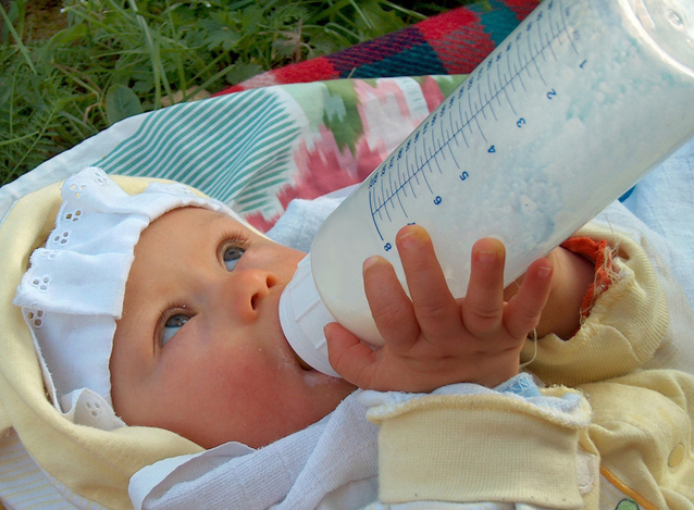 Ilustrasi Botol Bayi I img; freeimages.com