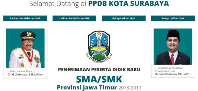 Pengumuman Hasil Seleksi PPDB Online SMP Negeri Kota Surabaya 2019/2020, Hasil PPDB SMP di Surabaya.