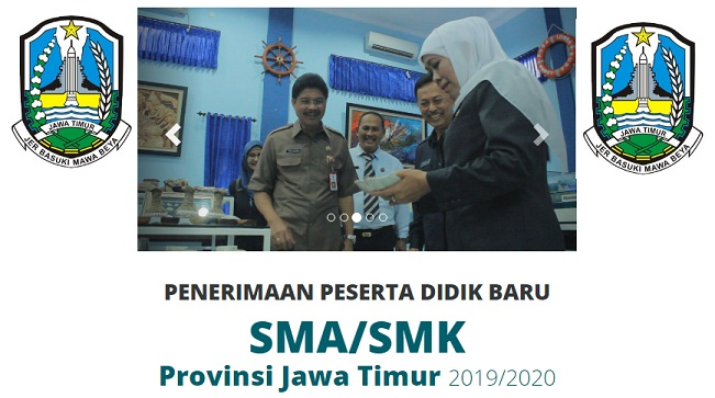 Jadwal dan Syarat pendaftaran PPDB SMA SMK JATIM 2019 Provinsi Jawa Timur
