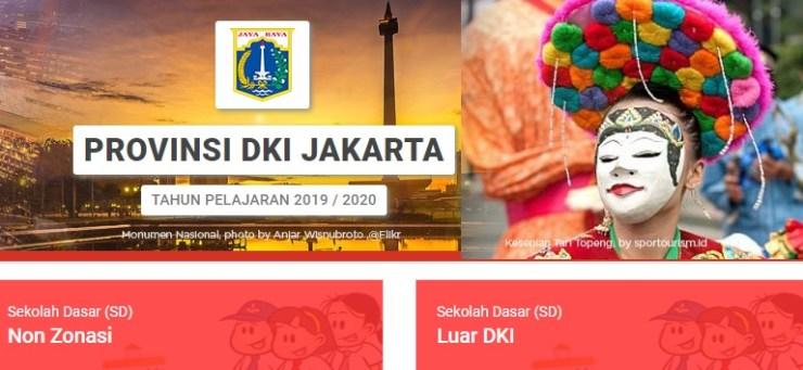 Jadwal dan Syarat pendaftaran PPDB SD NEGERI DKI JAKARTA 2019