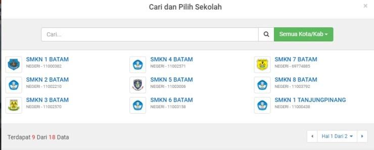 Pengumuman Hasil Seleksi PPDB SMA SMK SMK Negeri Kab Bintan 2020 2021
