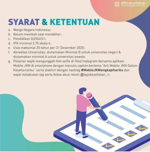 Pengumuman Hasil seleksi Rekrutmen Pegawai PTT BPJS Kesehatan 2021