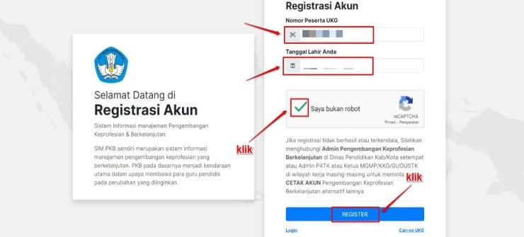 Panduan Registrasi Akun SIM-PKB