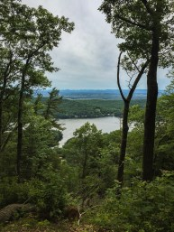 From Chandler Ridge you are also greeted with stunning views down to Lake Dunmore, which is along the western border of the Moosalamoo Recreation Area and at significantly lower elevation.