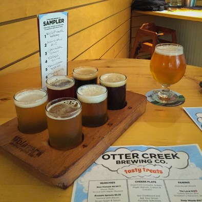 Post-ride perfection. If you are in the region you have to stop for beers at the Otter Creek Brewing Company. It was the perfect cap on a great bikepacking trip!