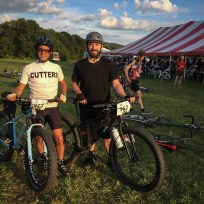 Feeling good to have just finished ~120 km of the hardest riding I've ever done in my life, and on my Surly Krampus. Jon, of course, was riding his custom Wiseman Frameworks fatbike, both of which carried us through to a successful (albeit modified) completion of D2R2.