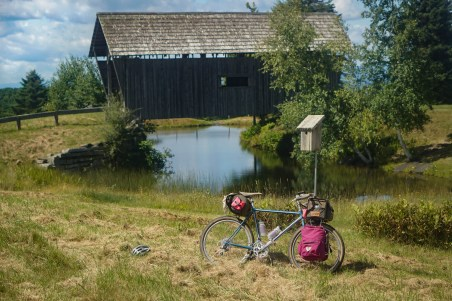 Hermano and the Foster Covered Bridge