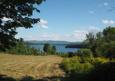Caspian Lake as seen from the Shore / Lakeview Road.