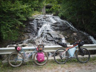 Cascade on the way back up into Groton State Forest