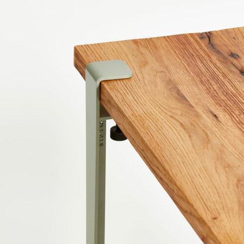 pieds de table basse en acier style