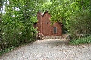 rustic cabin rental in Townsend Tn