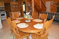 dinning table for your vacation getaway