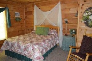 romantic townsend cabin rental