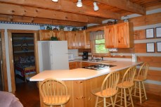 cheap rates in this Townsend log cabin