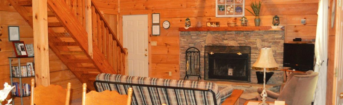 secluded townsend cabins