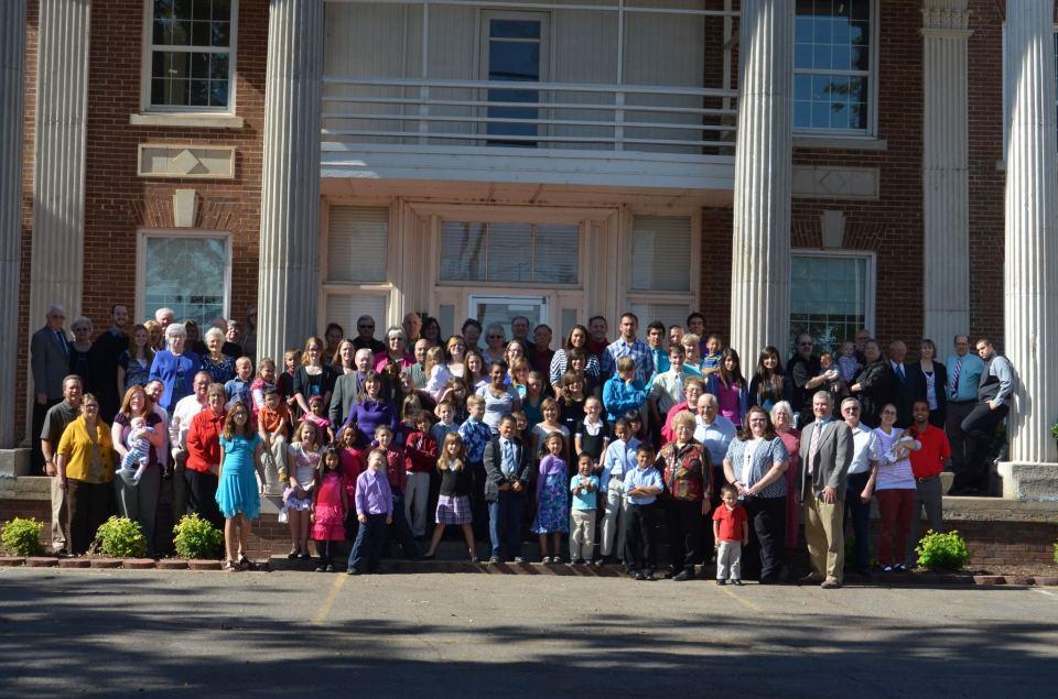 Tipton Childrens Home Alumni Group Photo
