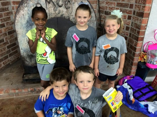 Tipton Children's Home kids at Quartz Mountain