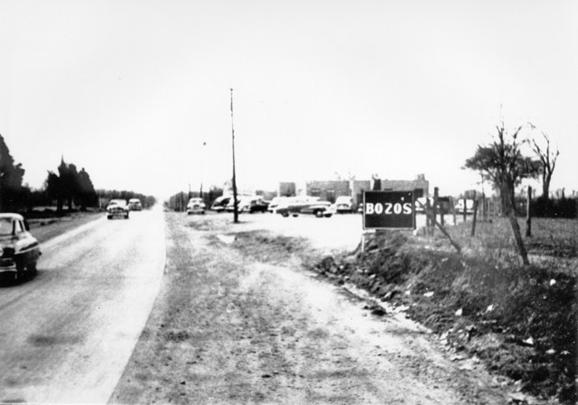1950 Approaching Bozos on Hwy 70 from Mason