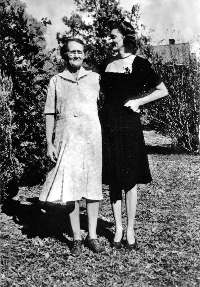 Mama Fannie and Aunt Rubye