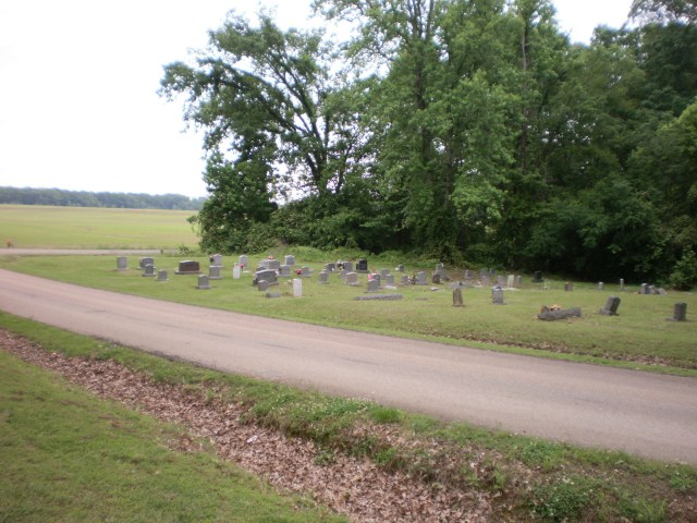 Salem M.B. Church Cemetery in Mason Tennessee