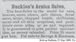 Bucklen's Arnica Salve
