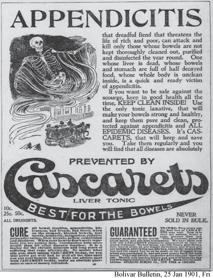 Cascarets Liver Tonic Best for the Bowels