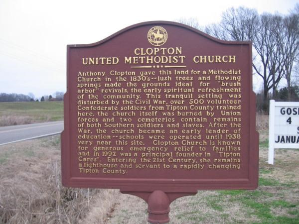 Clopton United Methodist Church