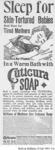 In a Warm Bath with Cuticura Soap