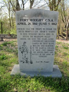 Fort Wright Historic Site Marker