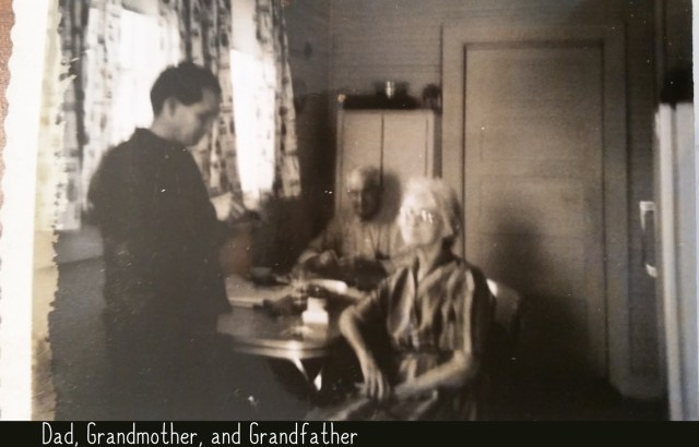 Dad 1 Jim Tom Williams with Dr Nichols and Mary Nichols