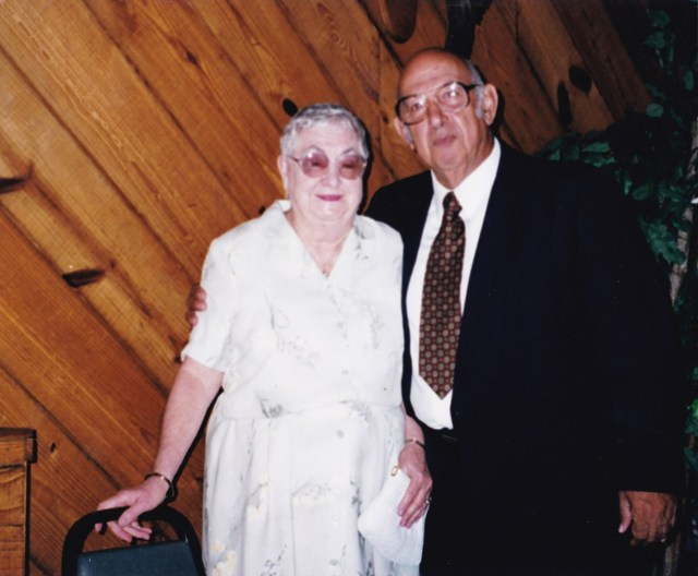 "Dorthy Allyson ""Dot"" Hogan Cottam and Larry Cottam"