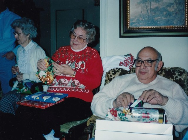 "Dorthy Allyson ""Dot"" Hogan Cottam, Larry Cottam, and Helen Williams"