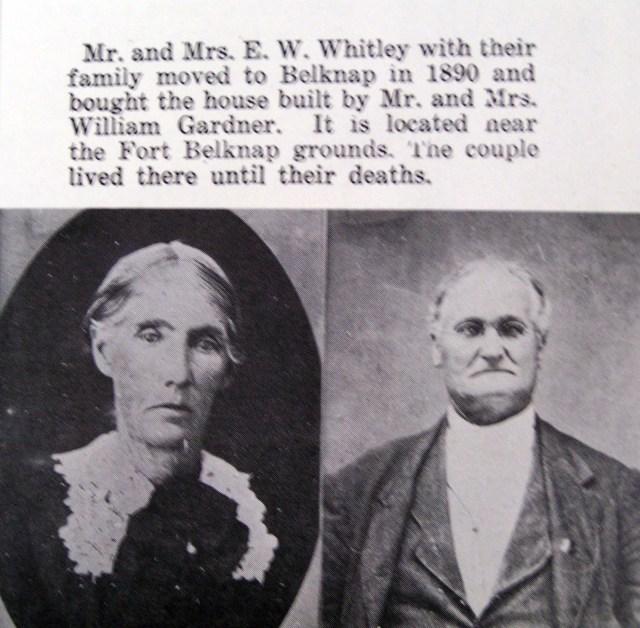 Edwin Wiley Whiteley & Amanda Emma Lawrence
