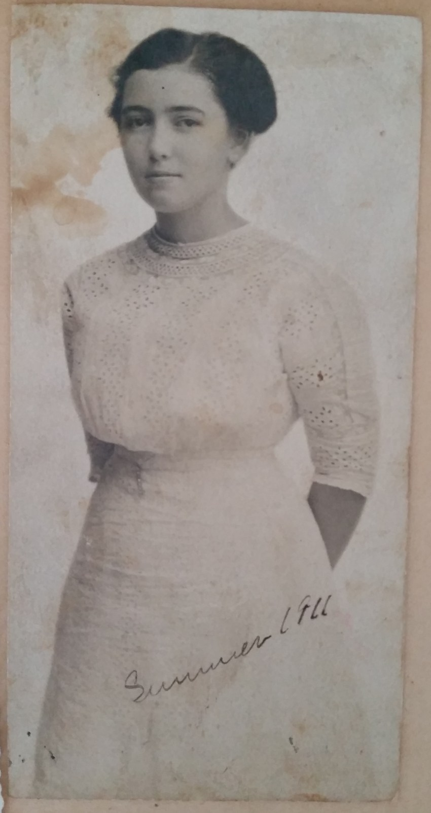 Mary Frances Piercy Nichols - She was about 19 a student in nursing school at UT in Memphis