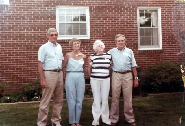 Jerry, Mary Ann, Lexie Lois Faulk Williams, Jim Tom Williams