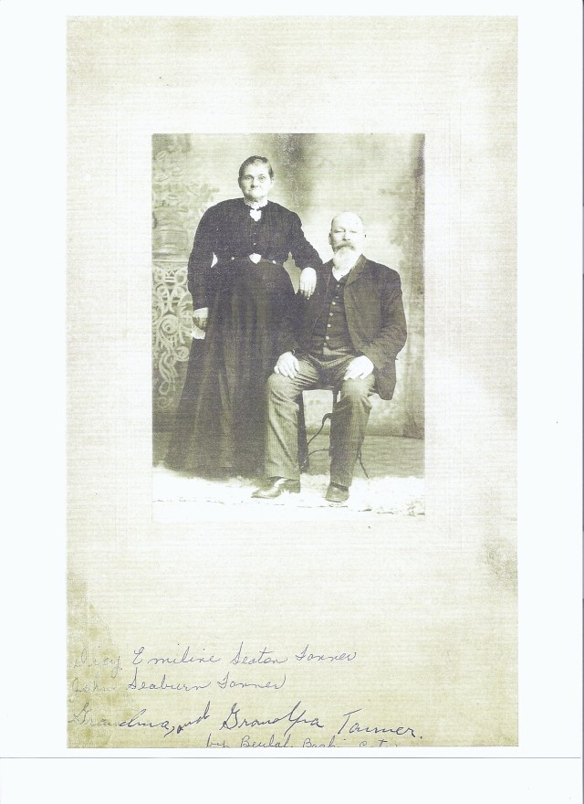 John Seaborn Tanner and wife Delilah Emaline Seaton