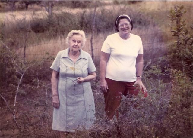 Katie Maurine Joyner Loft and Virginia Sarah Hamilton Loft