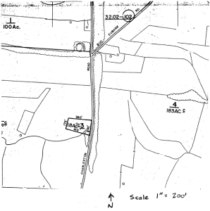 Map of Old Trinity