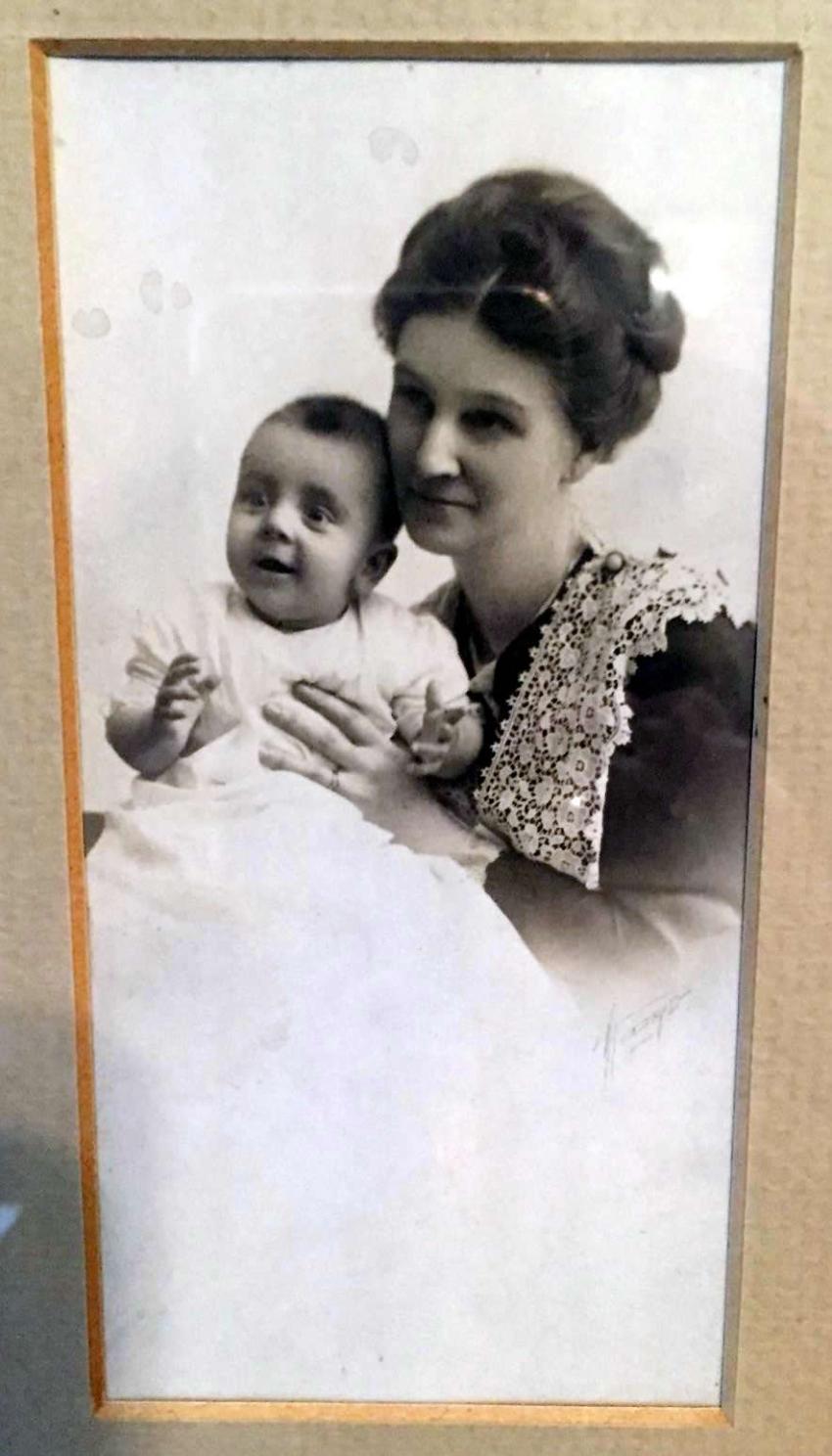 Sadie Rogers Howard and Uncle Lake