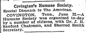 Covington's Humane Society